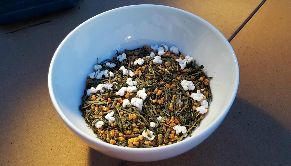 té verde Genmaicha